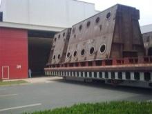 16m×12m×8m台车式热处理炉